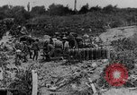 Image of British artillerymen firing a 9.2 inch howitzer France, 1916, second 12 stock footage video 65675048361