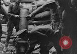 Image of British soldiers firing 9.45 inch mortar France, 1916, second 9 stock footage video 65675048364