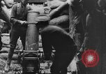 Image of British soldiers firing 9.45 inch mortar France, 1916, second 10 stock footage video 65675048364