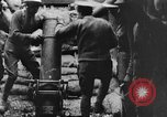 Image of British soldiers firing 9.45 inch mortar France, 1916, second 11 stock footage video 65675048364