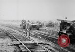 Image of Holts tractors moving heavy field guns France, 1918, second 5 stock footage video 65675048370