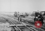 Image of Holts tractors moving heavy field guns France, 1918, second 7 stock footage video 65675048370