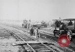 Image of Holts tractors moving heavy field guns France, 1918, second 8 stock footage video 65675048370