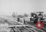 Image of Holts tractors moving heavy field guns France, 1918, second 9 stock footage video 65675048370