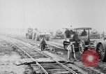 Image of Holts tractors moving heavy field guns France, 1918, second 11 stock footage video 65675048370