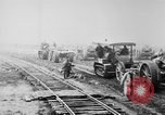 Image of Holts tractors moving heavy field guns France, 1918, second 12 stock footage video 65675048370