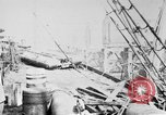 Image of War supplies being unloaded from a freighter Bordeaux France, 1918, second 1 stock footage video 65675048371
