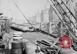 Image of War supplies being unloaded from a freighter Bordeaux France, 1918, second 5 stock footage video 65675048371