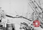 Image of War supplies being unloaded from a freighter Bordeaux France, 1918, second 6 stock footage video 65675048371