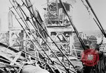 Image of War supplies being unloaded from a freighter Bordeaux France, 1918, second 9 stock footage video 65675048371