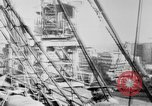 Image of War supplies being unloaded from a freighter Bordeaux France, 1918, second 10 stock footage video 65675048371