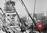 Image of War supplies being unloaded from a freighter Bordeaux France, 1918, second 11 stock footage video 65675048371
