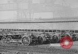 Image of Allied heavy field guns at ordnance yard Bordeaux France, 1918, second 1 stock footage video 65675048372