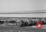 Image of Allied heavy field guns at ordnance yard Bordeaux France, 1918, second 2 stock footage video 65675048372