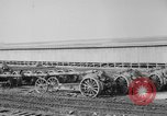 Image of Allied heavy field guns at ordnance yard Bordeaux France, 1918, second 4 stock footage video 65675048372