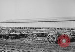Image of Allied heavy field guns at ordnance yard Bordeaux France, 1918, second 6 stock footage video 65675048372