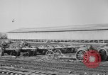 Image of Allied heavy field guns at ordnance yard Bordeaux France, 1918, second 7 stock footage video 65675048372
