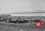Image of Allied heavy field guns at ordnance yard Bordeaux France, 1918, second 10 stock footage video 65675048372