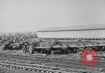 Image of Allied heavy field guns at ordnance yard Bordeaux France, 1918, second 12 stock footage video 65675048372