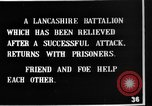 Image of British Lancashires returning from the front lines France, 1916, second 10 stock footage video 65675048375