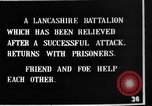 Image of British Lancashires returning from the front lines France, 1916, second 11 stock footage video 65675048375