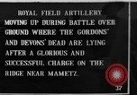 Image of British artillery moving in Battle of the Somme Mametz France, 1916, second 1 stock footage video 65675048376