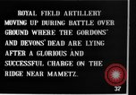 Image of British artillery moving in Battle of the Somme Mametz France, 1916, second 2 stock footage video 65675048376