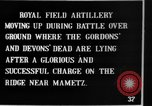 Image of British artillery moving in Battle of the Somme Mametz France, 1916, second 5 stock footage video 65675048376