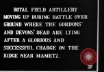 Image of British artillery moving in Battle of the Somme Mametz France, 1916, second 6 stock footage video 65675048376