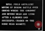 Image of British artillery moving in Battle of the Somme Mametz France, 1916, second 8 stock footage video 65675048376