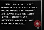 Image of British artillery moving in Battle of the Somme Mametz France, 1916, second 10 stock footage video 65675048376