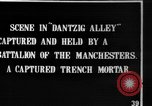 Image of British Manchesters occupy captured German trenches Mametz France, 1916, second 1 stock footage video 65675048378