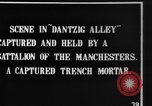 Image of British Manchesters occupy captured German trenches Mametz France, 1916, second 4 stock footage video 65675048378