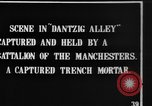 Image of British Manchesters occupy captured German trenches Mametz France, 1916, second 9 stock footage video 65675048378