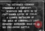 Image of Battered German fortifications Fricourt France, 1916, second 1 stock footage video 65675048379
