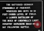 Image of Battered German fortifications Fricourt France, 1916, second 2 stock footage video 65675048379