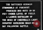Image of Battered German fortifications Fricourt France, 1916, second 3 stock footage video 65675048379