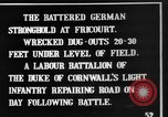 Image of Battered German fortifications Fricourt France, 1916, second 4 stock footage video 65675048379