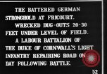 Image of Battered German fortifications Fricourt France, 1916, second 5 stock footage video 65675048379