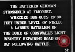 Image of Battered German fortifications Fricourt France, 1916, second 6 stock footage video 65675048379
