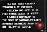 Image of Battered German fortifications Fricourt France, 1916, second 7 stock footage video 65675048379