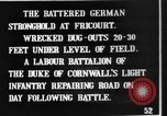 Image of Battered German fortifications Fricourt France, 1916, second 8 stock footage video 65675048379