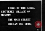Image of Destroyed French village Mametz France, 1916, second 1 stock footage video 65675048380