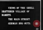 Image of Destroyed French village Mametz France, 1916, second 6 stock footage video 65675048380