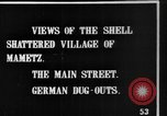 Image of Destroyed French village Mametz France, 1916, second 7 stock footage video 65675048380