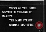 Image of Destroyed French village Mametz France, 1916, second 9 stock footage video 65675048380