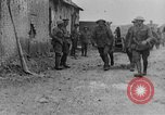 Image of British soldiers with captured German artillery La Boiselle France, 1916, second 10 stock footage video 65675048381
