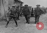 Image of British soldiers with captured German artillery La Boiselle France, 1916, second 12 stock footage video 65675048381