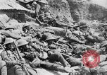 Image of Lancashire Fusiliers relaxing during lull in battle of the Somme France, 1916, second 8 stock footage video 65675048382