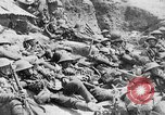 Image of Lancashire Fusiliers relaxing during lull in battle of the Somme France, 1916, second 9 stock footage video 65675048382